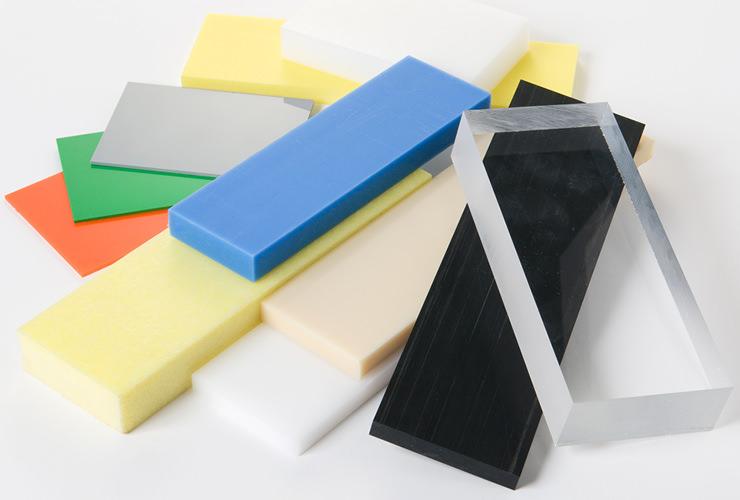 名西株式会社で対応可能なプラスチック素材